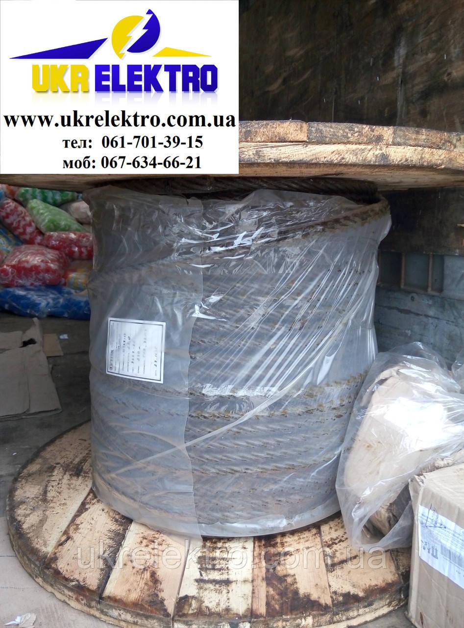 Канат лифтовой ГОСТ 3077-80 грузолюдской  диаметр 10,5 мм.