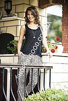 "Женская пижама Shirly 4820 ""Леопард"", костюм домашний с брюками"