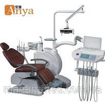 Стоматологическая установка Anya AY-A4800 трехсекцеонное кресло, нижняя подача