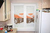 Ролеты тканевые на окна, жалюзи, рулонная штора, ролштора Гармония 4070 бежевый, 40*160 см
