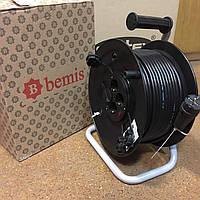"""Удлинитель на катушке """"Bemis"""" 50 метров 2 х 2.5 мм (с теплозащитой)"""