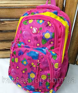 Школьный прочный рюкзак для девочек из плотного непромокаемого материала, на 5 отделов