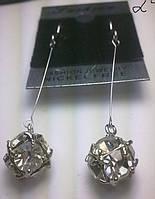 Серьги с кристаллами Swarovski .168