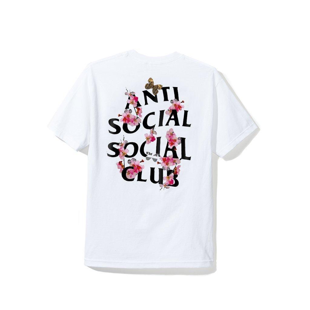 "Футболка с принтом A.S.S.C.""Anti Social social club"" Flowers | мужская"