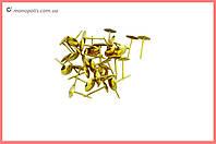 Гвозди мебельные FZB - гладкие AB (бронза)