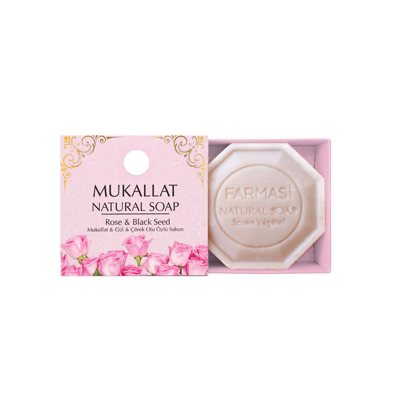 Натуральное мыло Дамасская роза Farmasi (1119045)