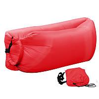 Ламзак, надувной шезлонг Premium Красный