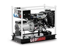 Трехфазный дизельный генератор Genmac Minicage G16500YEO (13 кВт)