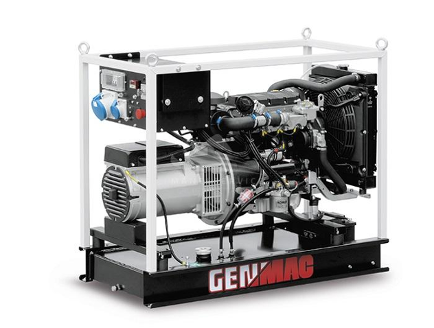 Однофазный дизельный генератор Genmac Minicage RG9600KEO (9.4 кВт)