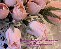 """Букет из конфет """"Нежность"""", 5 роз, фото 1"""