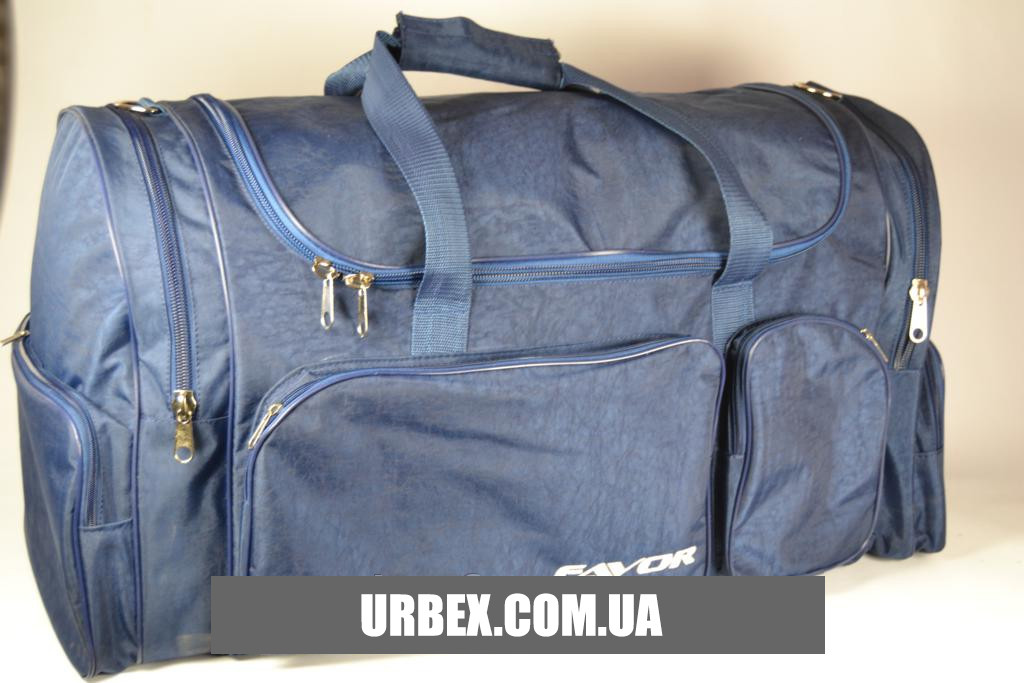 Велика дорожня сумка синя 112 літр. / Большая сумка дорожная синяя