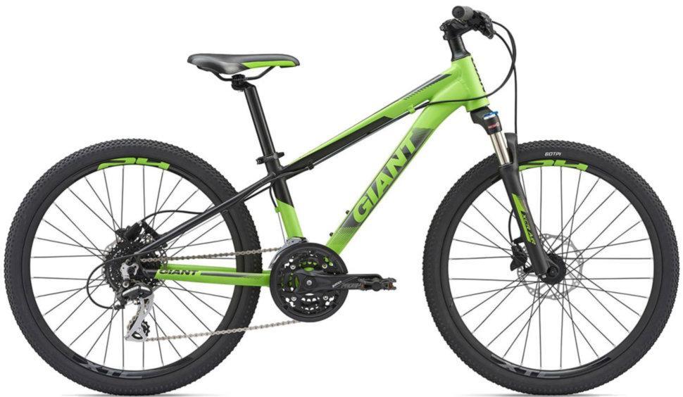 """Подростковый велосипед Giant XTC Jr SL 24"""", Apple зеленый (GT)"""