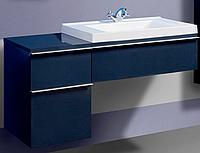 Тумба для ванной комнаты Трансформер с секцией цветная