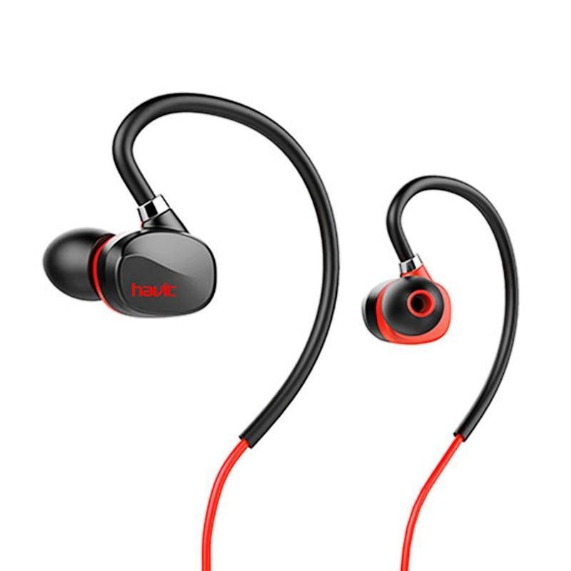 Наушники беспроводные Havit HV-H951BT black/red