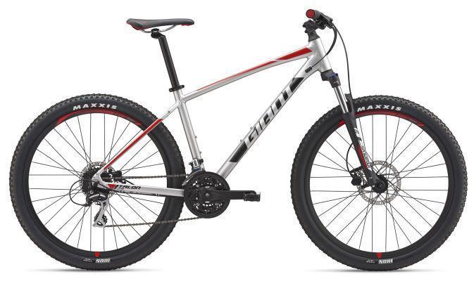 """Горный велосипед Giant Talon 3 27,5"""", серебристый M (GT)"""