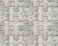 Обои абстрактные с 3д изображением пазлы 327034