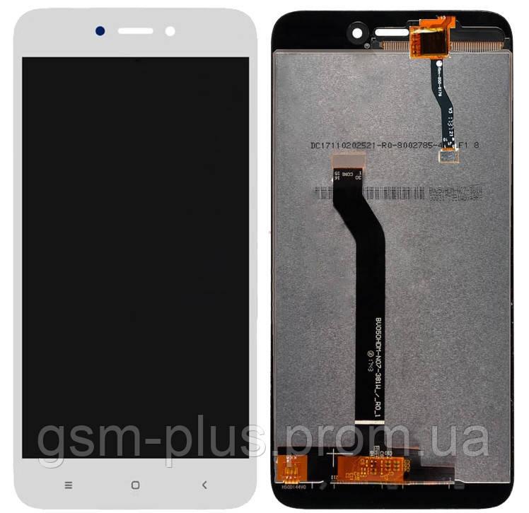 Дисплей Xiaomi Redmi 5A / Redmi Go complete with touch White