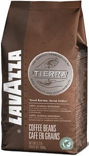 Кава в зернах Lavazza Espresso Tierra 500 г 100% арабіка