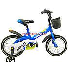 Детский велосипед WeilAixi 14 дюймов синий, фото 2