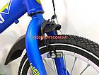 Детский велосипед WeilAixi 14 дюймов синий, фото 4