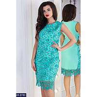 Женское платье норма шикарное размеры S, M, L цвет мята