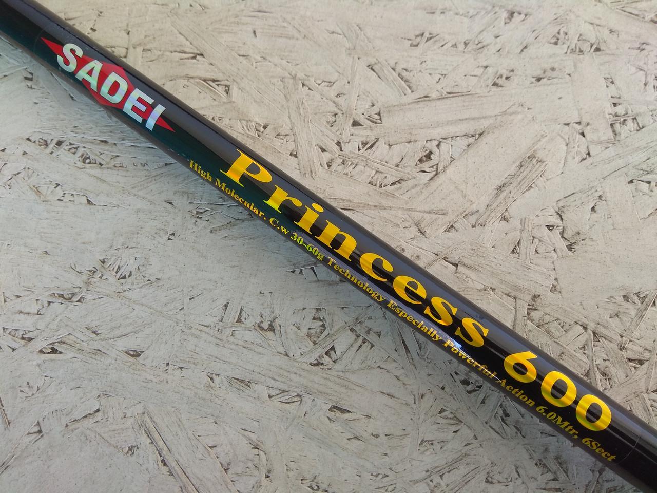 Удочка Sadei Princess 600 с кольцами