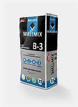 Wallmix B-3 Клей для газоблоку, 25 кг