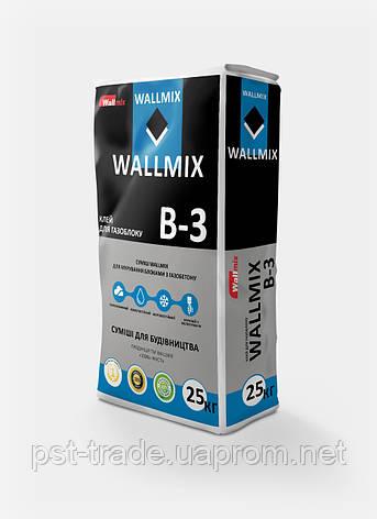 Wallmix B-3 Клей для газоблоку, 25 кг, фото 2