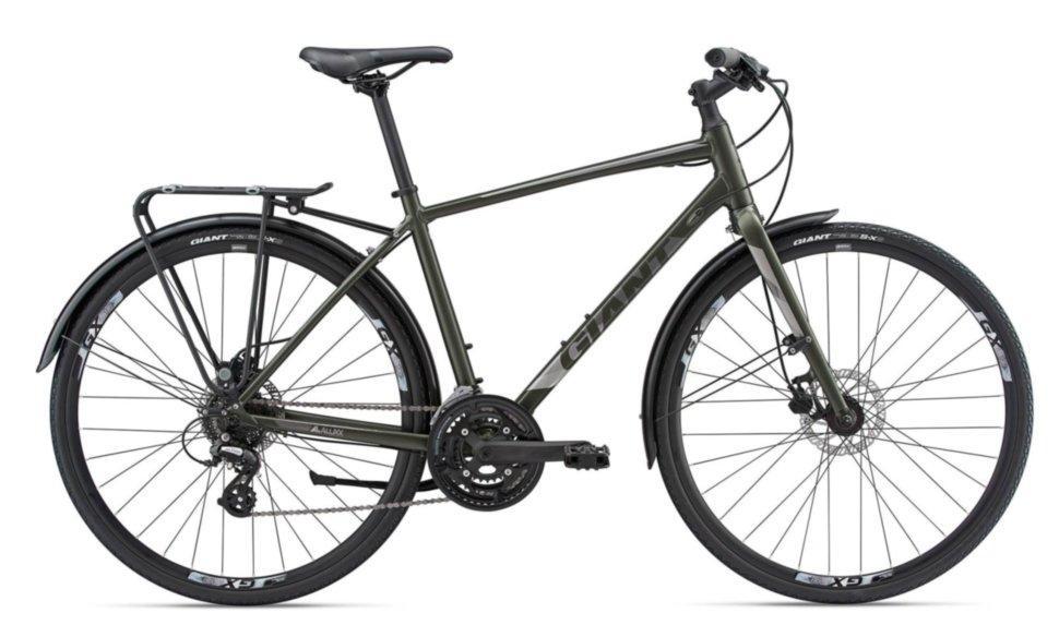 Городской велосипед Giant Escape 2 City Disc, темн.зеленый M/18 (GT)