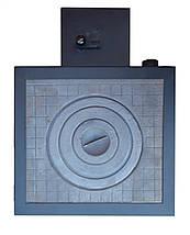 Твердотопливный котел Amica Optima (Амика Оптима) с чугунной плитой, фото 3