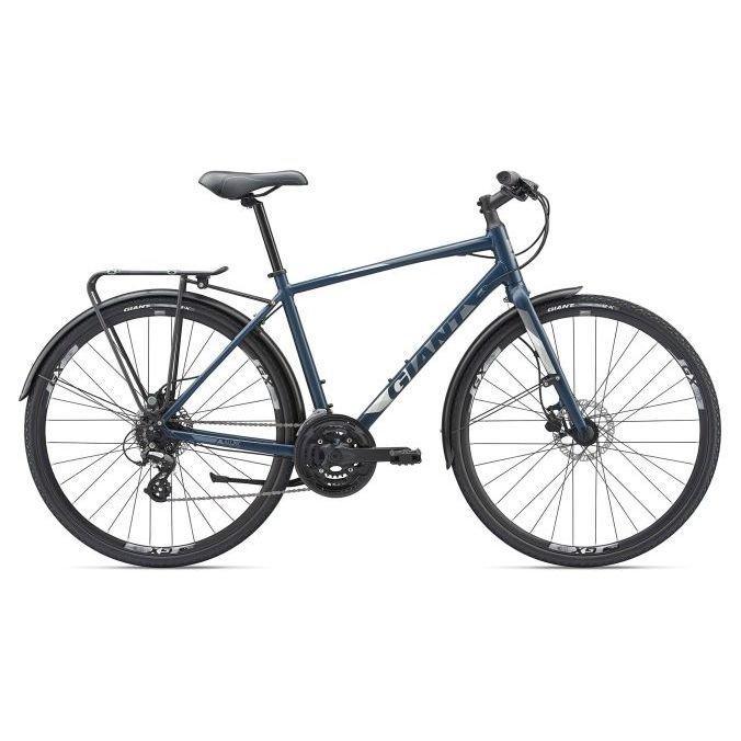 Городской велосипед Giant Escape 2 City Disc, темн.синий L/20 (GT)