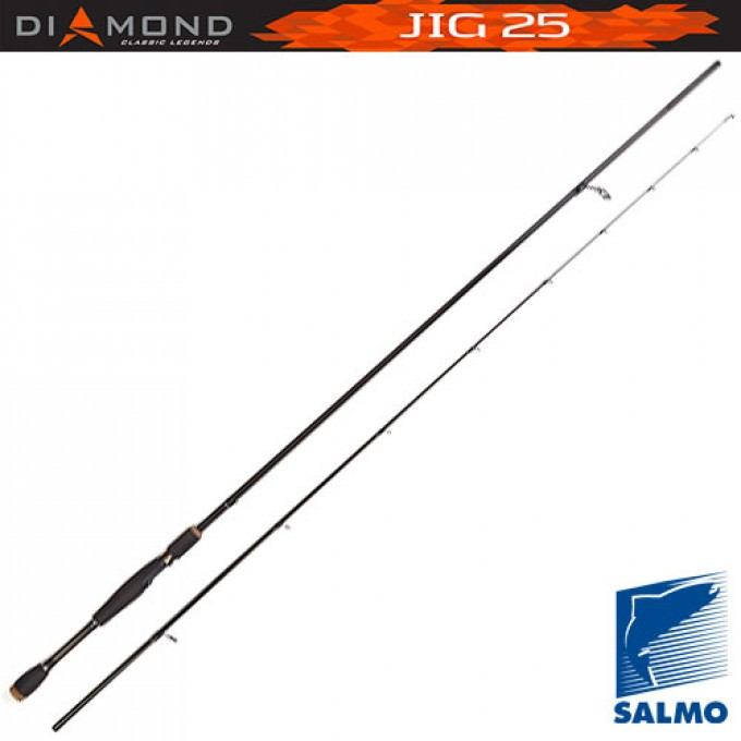 Удилище спин. Salmo Diamond JIG 25 (5512-228)