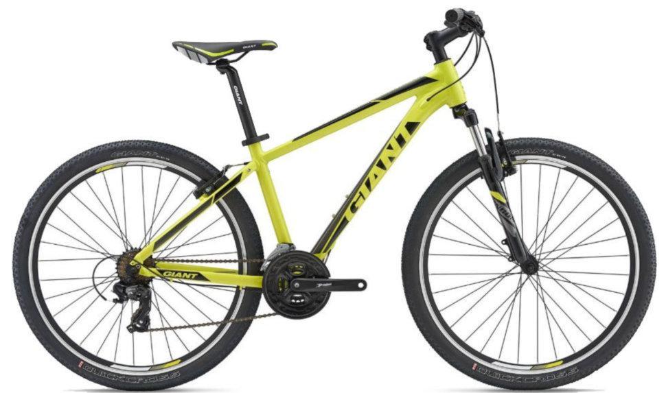 """Горный велосипед Giant Rincon 27,5"""", желто-черно-серый (GT)"""