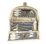 Корзина для пикника на 2 персоны + сумка-холодильник (021PPN), фото 2