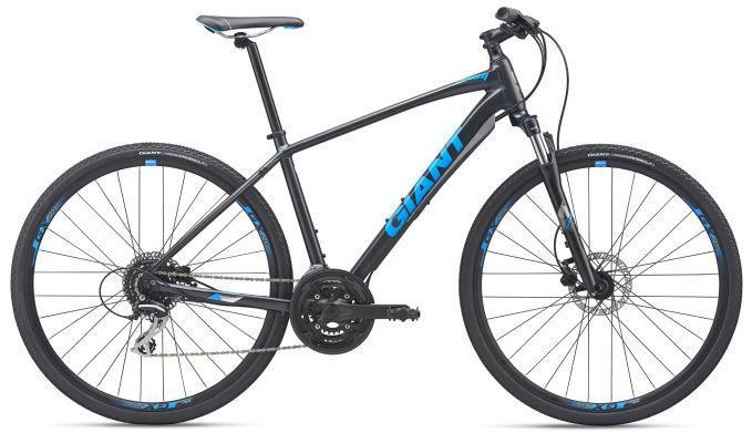 """Велосипед гибрид Giant Roam 3 Disc GE 28"""", метал.черный L (GT)"""