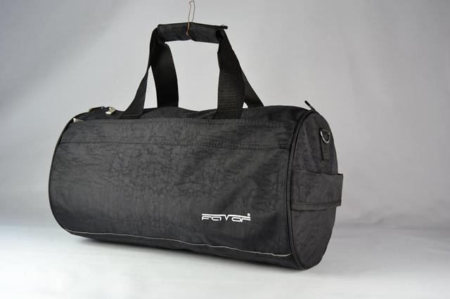 Спортивна сумка чорна / Сумка спортивная черная