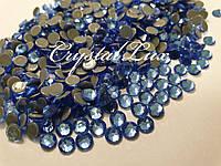 "Термо-стразы ss16 Lt.Sapphire, 1440шт, (3,8-4,0мм) ""Premium Crystal"""