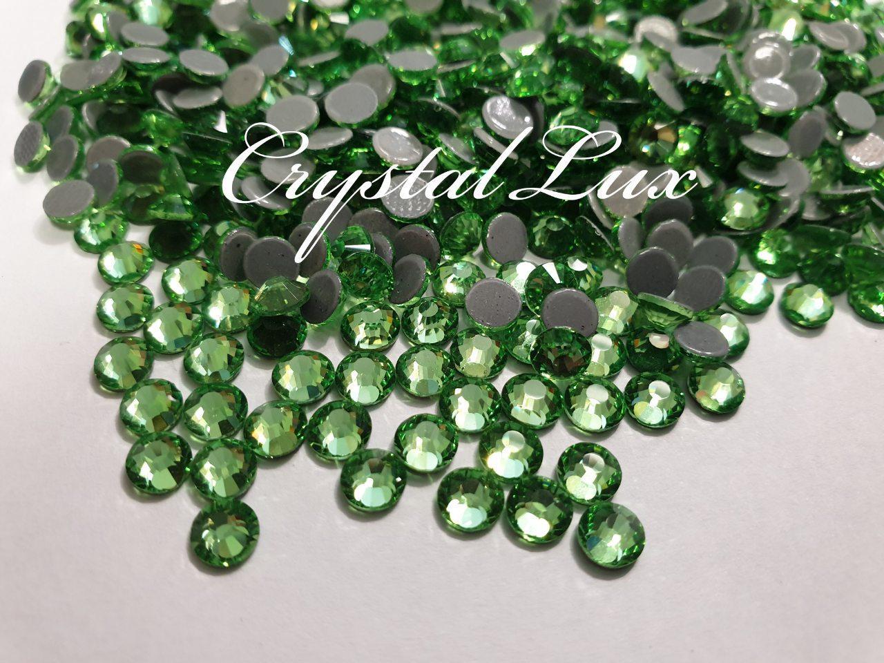 "Термо-стразы ss16 Peridot, 1440шт, (3,8-4,0мм) ""Crystal Premium"""