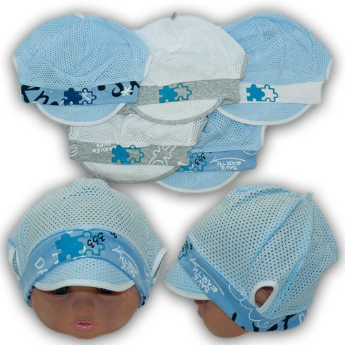 Летняя шапочка для малыша