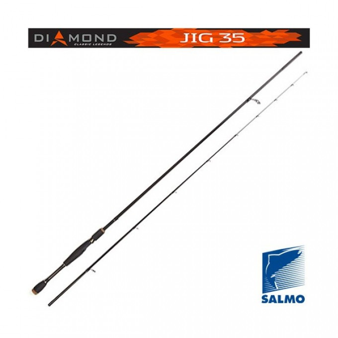 Вудлище спін. Salmo Diamond JIG 35 (5513-228)