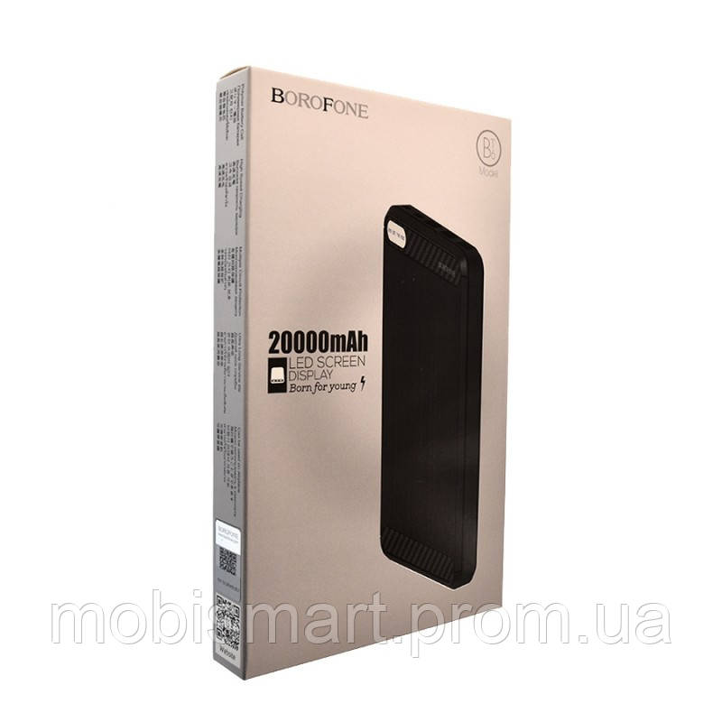 Power Bank Borofone BT6 (20000mAh) black
