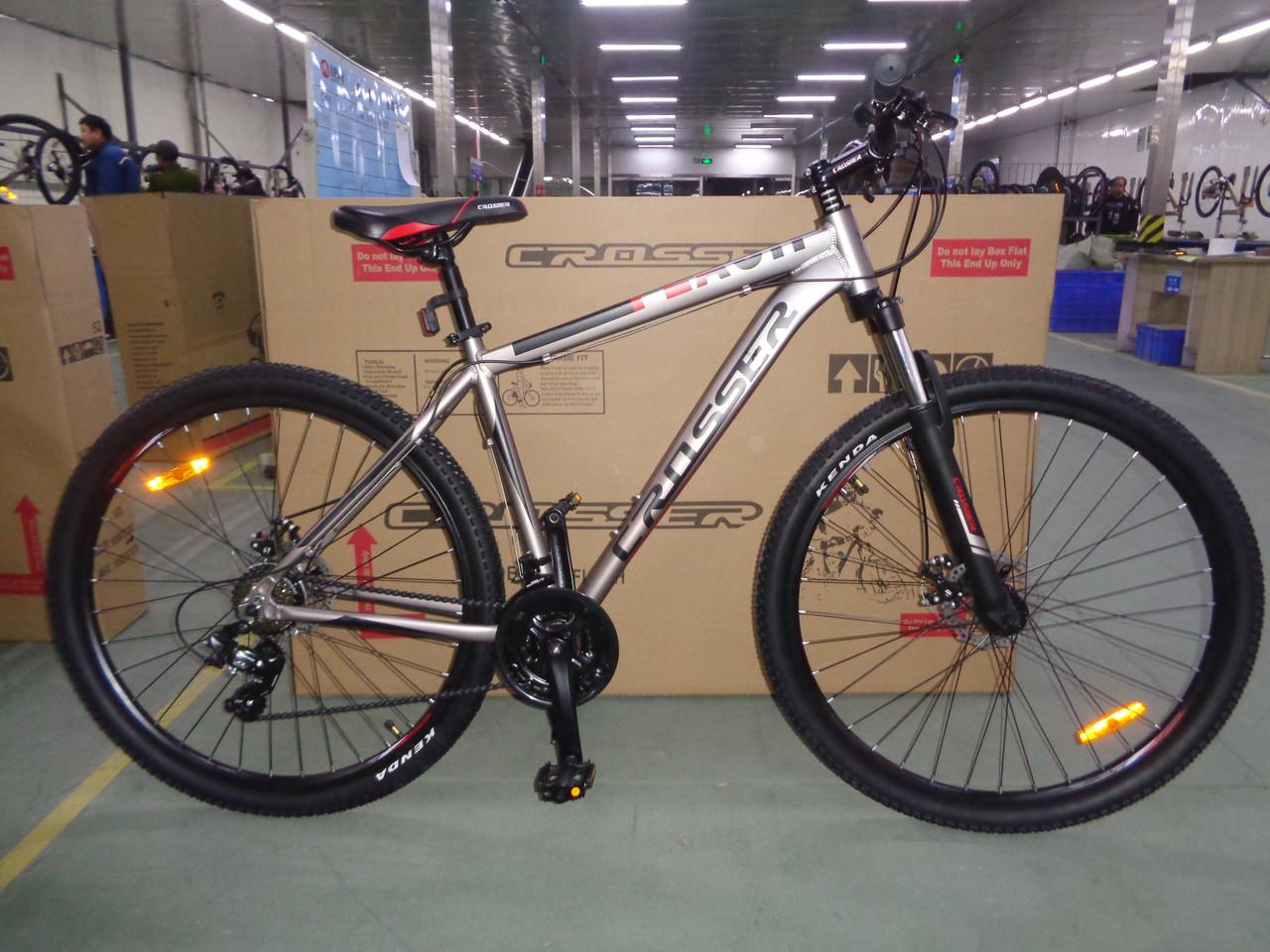 Горный подростковый велосипед 24 дюйма Flash 17рама