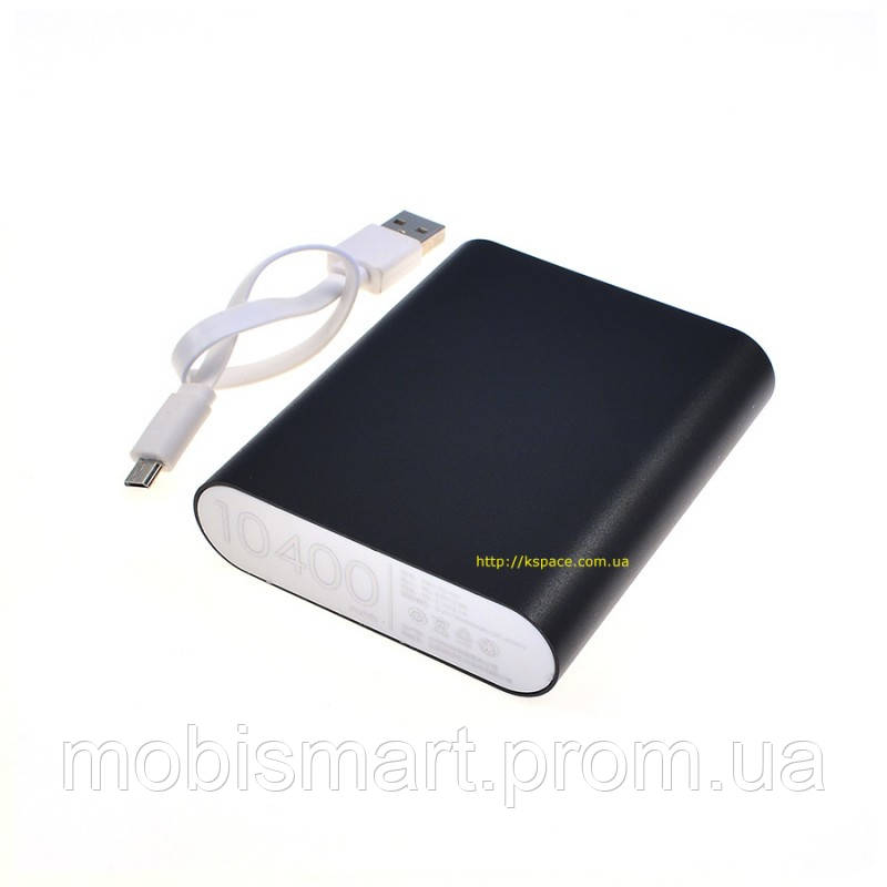 Power Bank Xiaomi copy AAA (10400mAh) black (2000 mAh внутри)