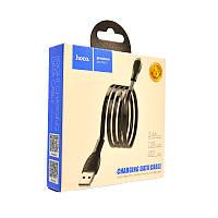 Кабель USB-m Hoco U52 Bright Micro (1200mm) black