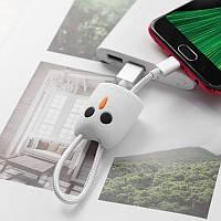Кабель USB-m Kikibelief KX2 Micro (24cm) white