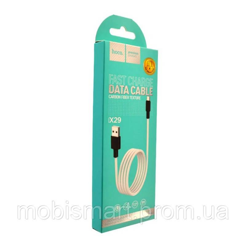 Кабель USB-C Hoco X29 Superior Type-C (1000mm) black