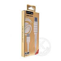 Кабель USB-m Konfulon S-31 Micro (2.1A) 1.2m white