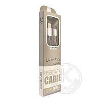 Кабель USB-m Usams US-SJ020 U-Trans Micro Long 1m gray