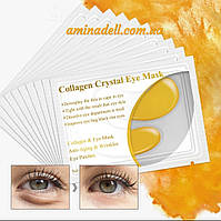 """Золотые коллагеновые патчи под глаза Collagen Crystal Eye Maskот темных кругов и """"гусиных лапок"""""""
