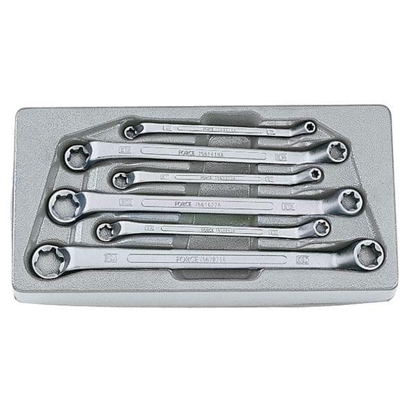 Набор ключей накидных торкс 6пр. (5065 Force)